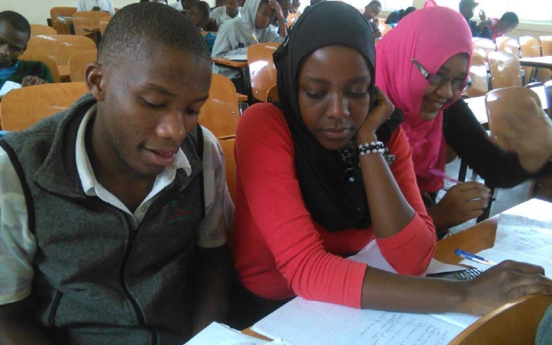 Kikuletwa Renewable Energy students